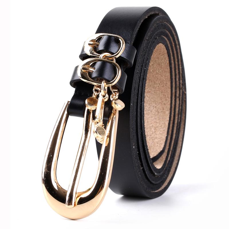 JD Коллекция черный дефолт черный кожаный ремень