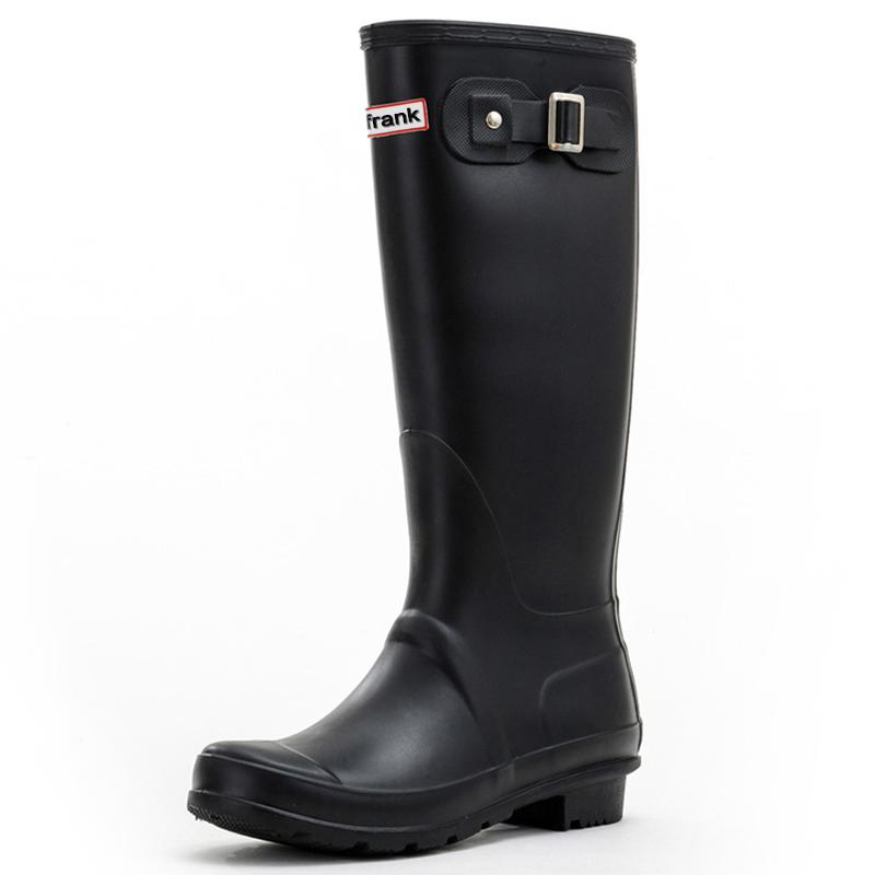 JD Коллекция черный 40 le royal кружева моды на высоких каблуках непромокаемые сапоги воды обувь g003 белый 39 ярдов