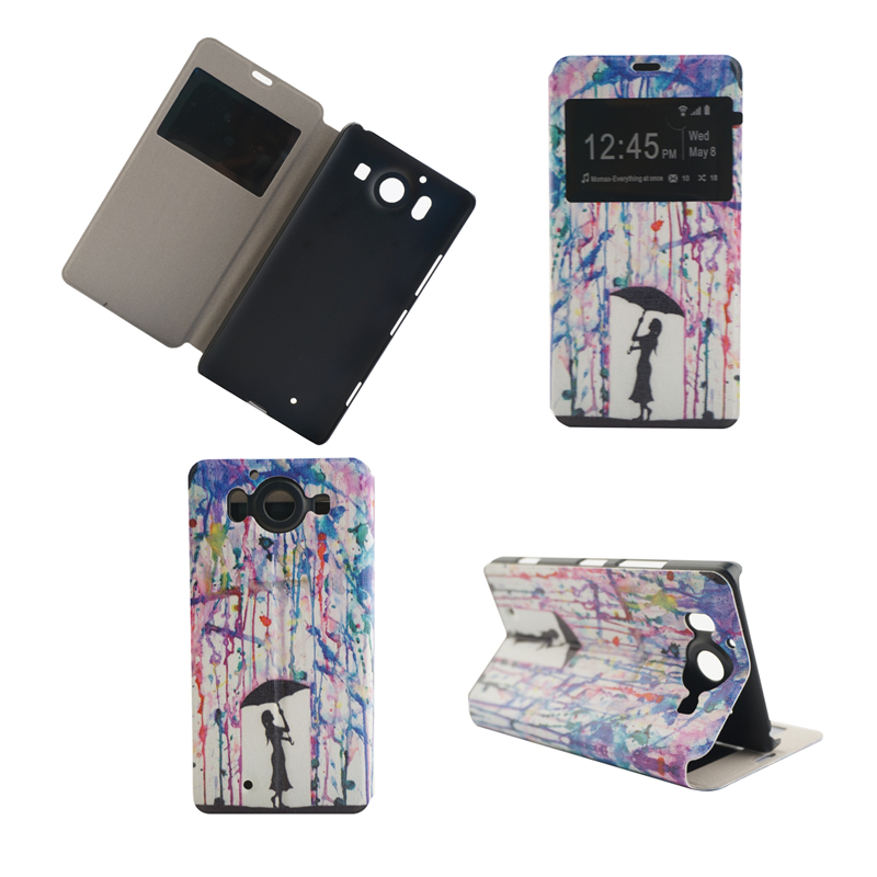 GANGXUN аксессуар чехол microsoft lumia 950 armor dual sim purple 8540
