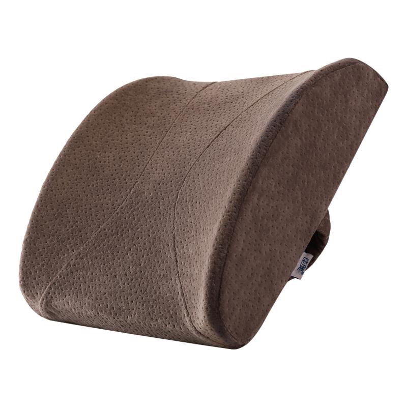 JD Коллекция Офис модель автомобиля поездки коричневый дефолт автомобиль шеи подушки автомобиля поясничного поясничная на четыре сезона универсальные creative авто аксессуары интерьера пакет почты