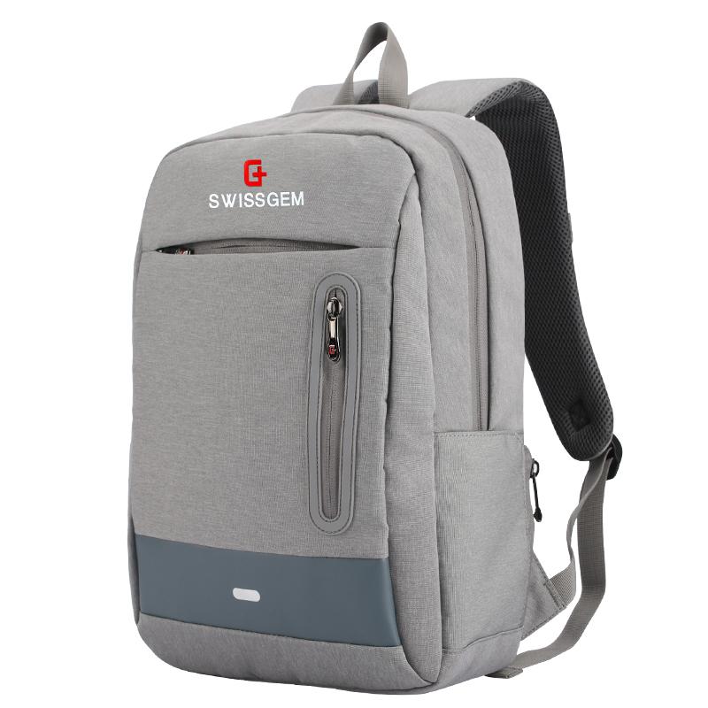 JD Коллекция SA-9935C Gray дефолт svvissgem плеча сумку бизнеса случайных мужчин и женщин сумка 14 6 дюймовый ноутбук сумка sa 9666 черный