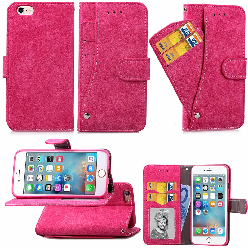 GANGXUN mooncase чехол для iphone 6 6s 4 7 флип pu держатель карты кожаный бумажник стенд feature чехол обложка no a01