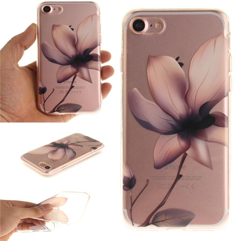 GANGXUN магнолия цветок картины мягкий тонкий тпу резиновая крышка случая силикона геля для lenovo a2010