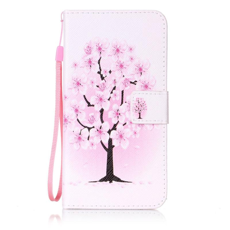Чехол для Samsung Galaxy J72016J7109 pink dandelion design кожа pu откидной крышки кошелек для карты держатель для samsung j5prime