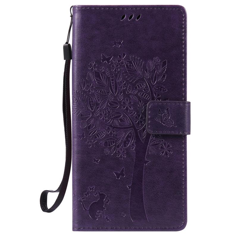 GANGXUN brown tree design кожа pu флип крышки кошелек карты держатель чехол для huawei nexus 6p