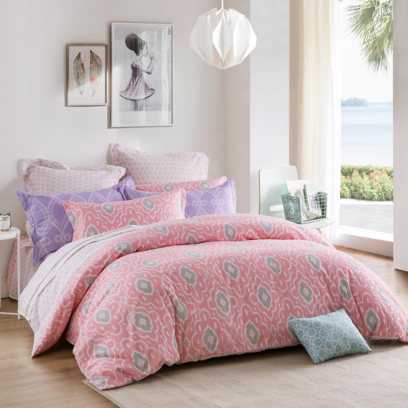 JD Коллекция Лиза 200 230cm mercury постельные принадлежности набор 4 штуки простыня с набивной чехол на одеяло 100
