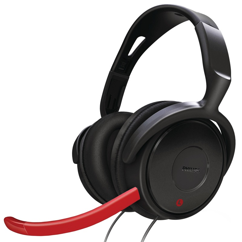 PHILIPS SHG7980 Gaming Headset дефолт гарнитура philips she3555 white