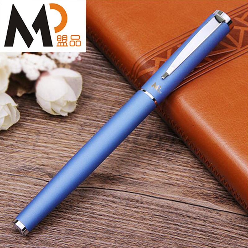 MP Blue Roller ball pen real picasso 917 ballpoint pen roller ball pen office and school writing supplies gel pens business gift free shipping