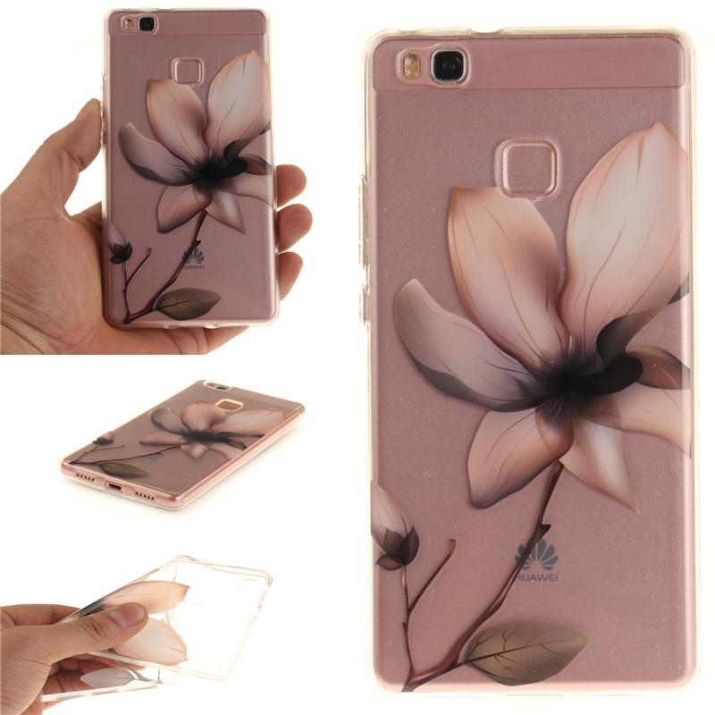 GANGXUN магнолия цветок картины мягкий тонкий тпу резиновая крышка случая силикона геля для huawei y3 ii