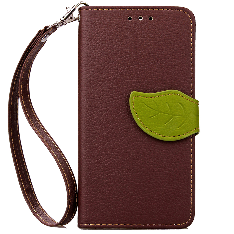 GANGXUN коричневый дизайн кожа pu откидная крышка бумажника карты держатель чехол для apple iphone 7