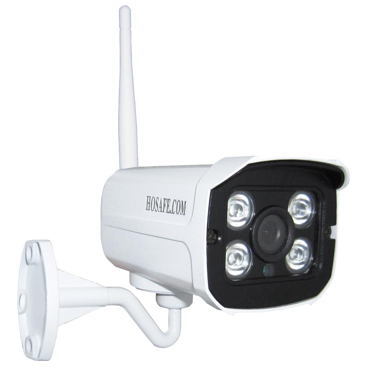 HOSAFECOM Евровилка hosafe sv1mb1w 720p wireless outdoor hd ip camera w h 264 motion detection e mail alert ip66 4 led ir night vision