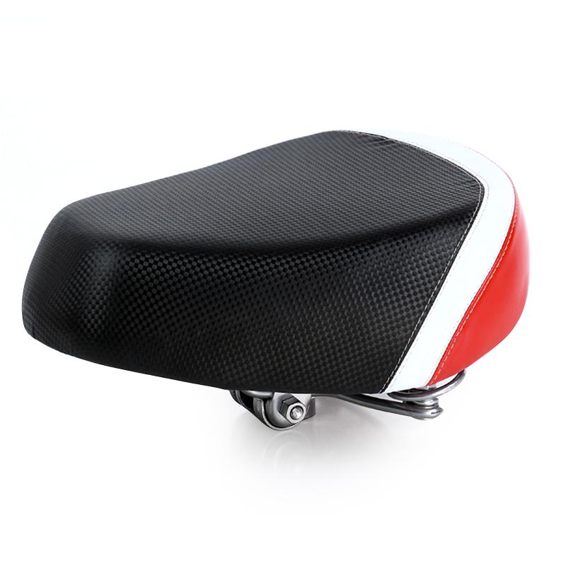 JD Коллекция Черное и красное электрическое седло