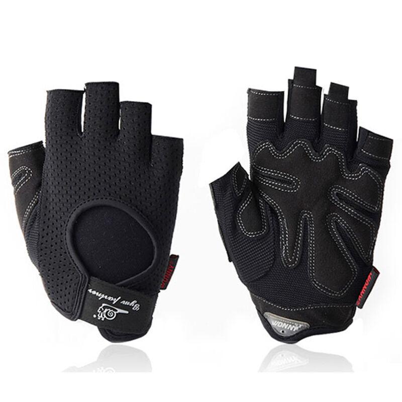 JD Коллекция черный L улитка wonny js 013 фитнес перчатки половины пальцев перчатки скольжения мужские и женские фитнес оборудование перчатки черный xl