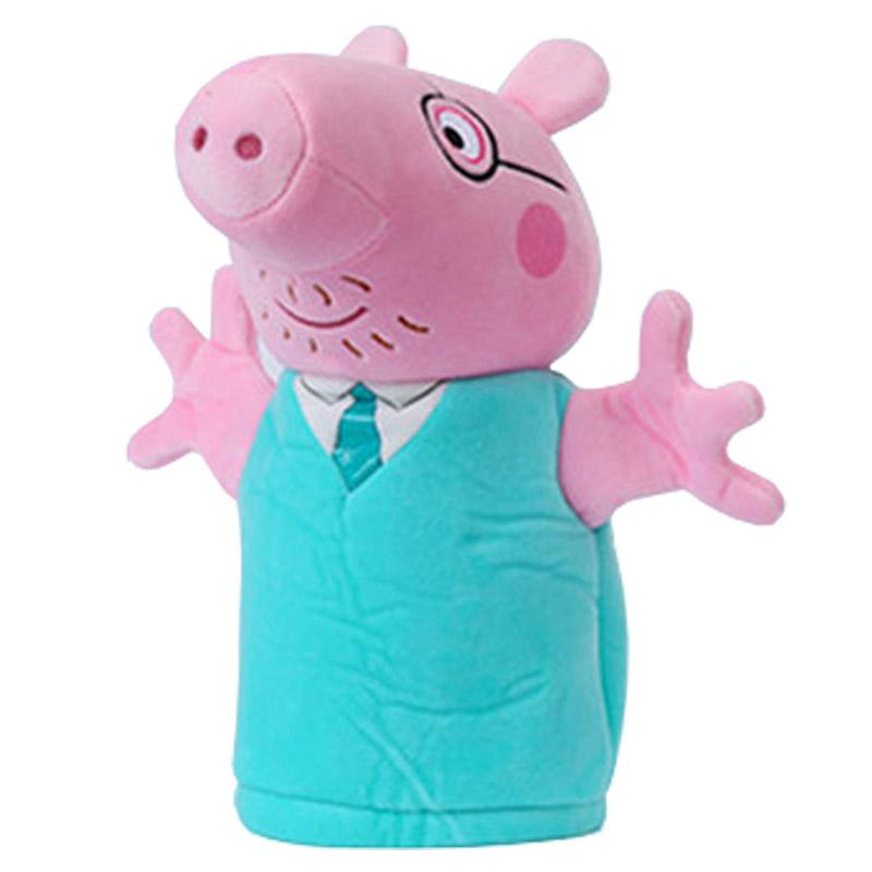 JD Коллекция 26см рука кукольный Zhuba дефолт свиньи page peppapig 30см плюшевые игрушки peppa pig пижамы page