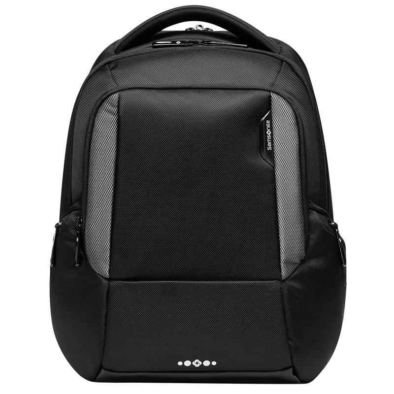 JD Коллекция черный среда samsonite samsonite плечо сумка 2016 новый мужской парный рюкзак компьютер мешок 14 дюймов i33 64001 сине зеленый зеленый