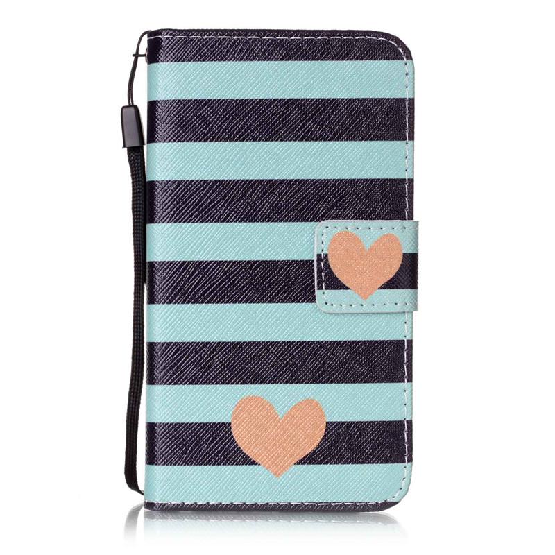 Чехол для Samsung Galaxy J12016J120F blue stripes дизайн pu кожа флип обложка кошелек для карты памяти чехол для samsung galaxy s4 i9500