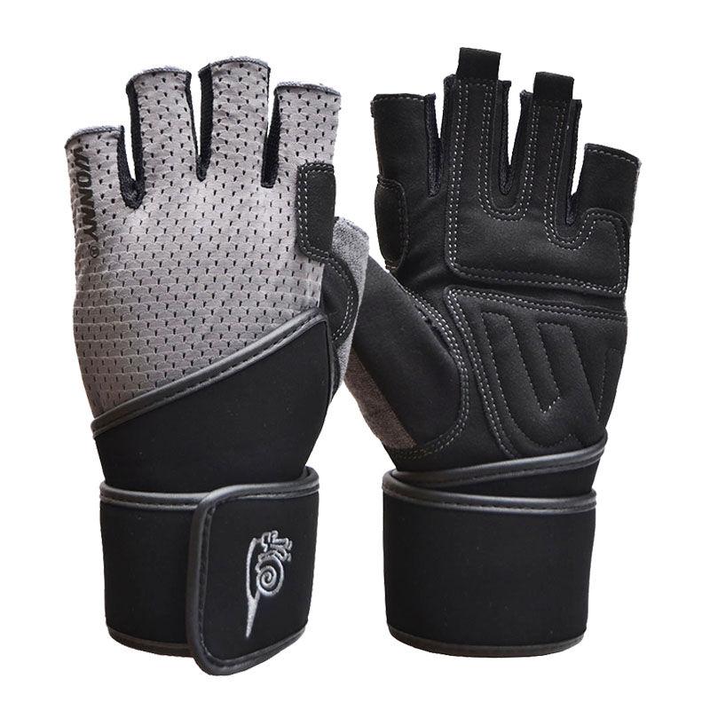 JD Коллекция улитка wonny js 013 фитнес перчатки половины пальцев перчатки скольжения мужские и женские фитнес оборудование перчатки черный xl