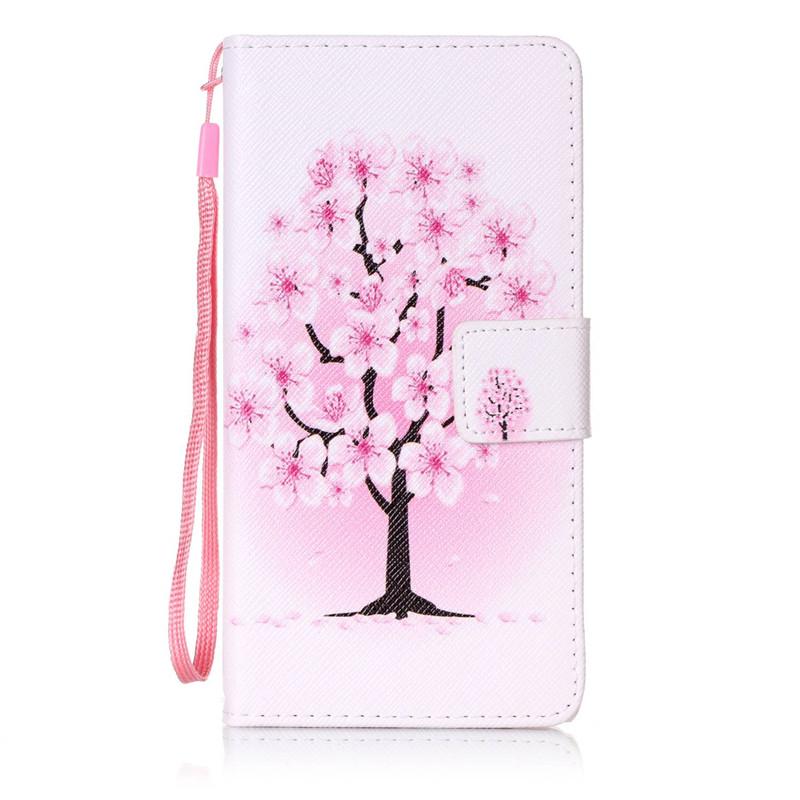 Чехол для Samsung Galaxy J52016J510 pink dandelion design кожа pu откидной крышки кошелек для карты держатель для samsung j5prime