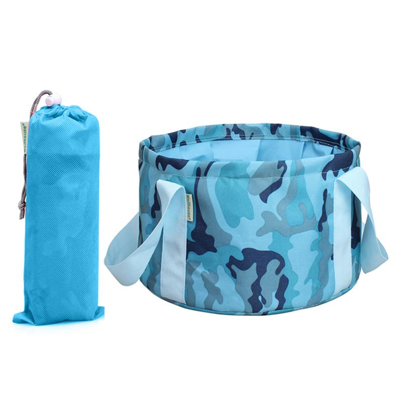 JD Коллекция синий kingcamp портативное складное ведро для лагеря досуга пикник вне дома 8l