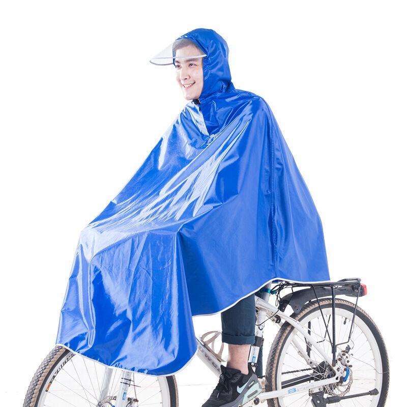 JD Коллекция лазурь 3XL kendo открытый верховая езда взрослый велосипед плащ мужской и женский одиночный пончо увеличить утолщение z 1 темно синий 3xl