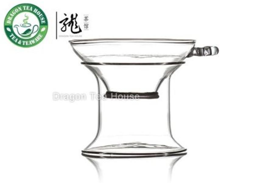 Dragon Tea House алтарь фарфор сетка сито и подставка для gongfu чая