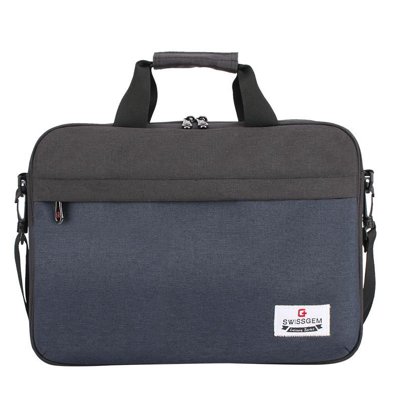 JD Коллекция SA-9933C темно-синий дефолт svvissgem плеча сумку бизнеса случайных мужчин и женщин сумка 14 6 дюймовый ноутбук сумка sa 9666 черный