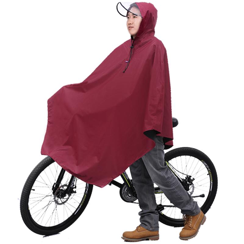 JD Коллекция Бургундия пончо велосипедов paradise n121 увеличить электрические электромобили пончо плащ опциональный мульти красный цвет