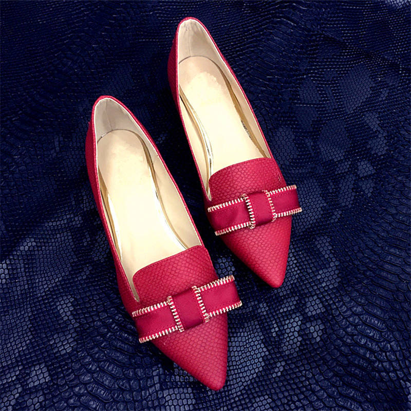 jiabaisi Красный цвет 10 ярдов enmayer super high heels pumps sexy red stiletto pointed toe slip on shoes for party wedding plus size 34 43 summer shoes women