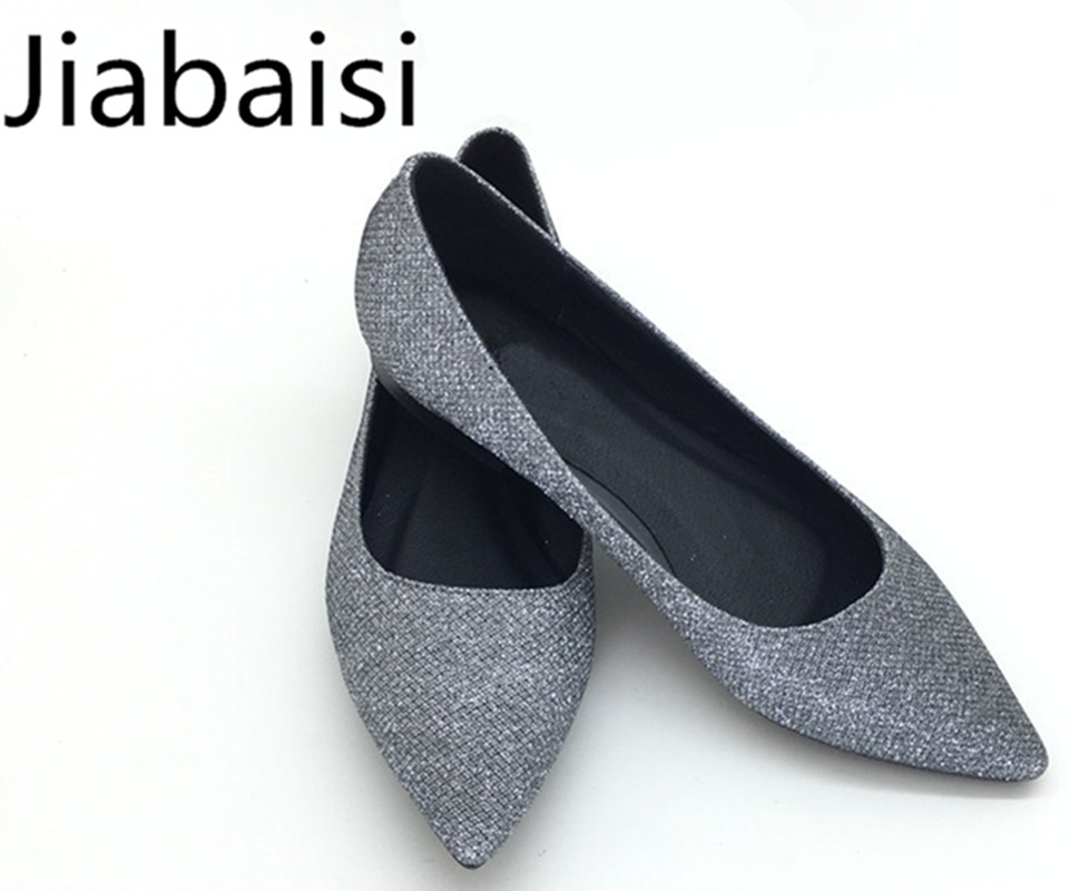 jiabaisi Серый цвет 8 ярдов 2017 women pointed toe patent leather office high heel shoes ladies pumps wedding party dress shoes 8 cm appliques