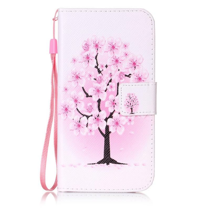 Чехол для Samsung Galaxy J32016J310 pink dandelion design кожа pu откидной крышки кошелек для карты держатель для samsung j5prime