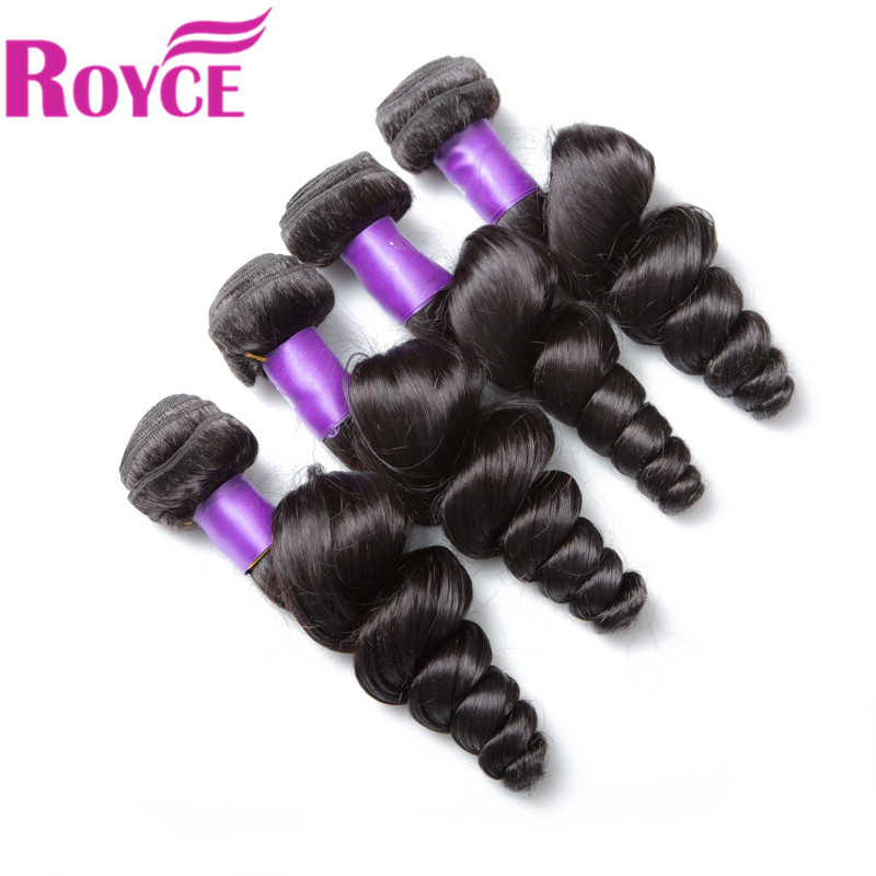 ROYCE 10 10 10 10 loose wave brazilian hair weave wholesale 10 bundles virgin unprocessed human hair weave natural color 10 28 alot hair products