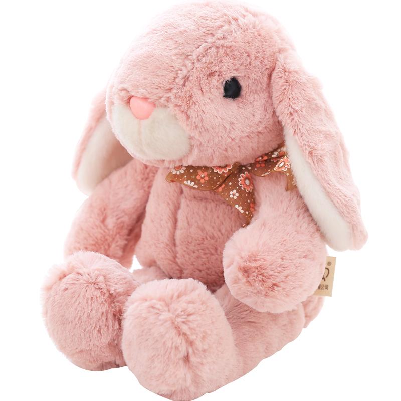 CUBE Элис кролик - розовый ластик - около 25 см дефолт ia ai