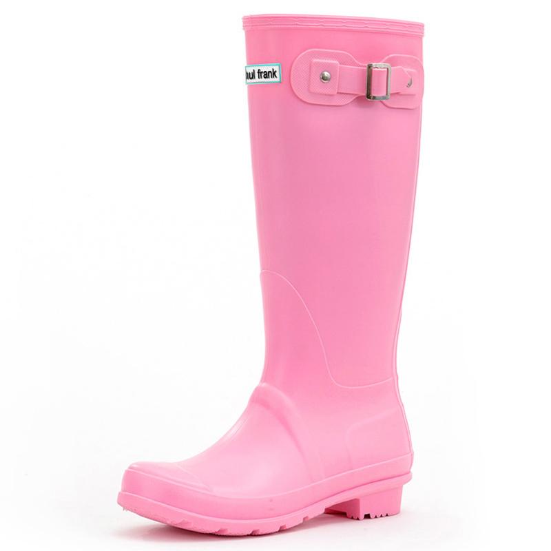 JD Коллекция розовый 38 le royal кружева моды на высоких каблуках непромокаемые сапоги воды обувь g003 белый 39 ярдов