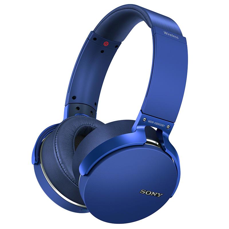JD Коллекция синий Версия Bluetooth новая наушники беспроводные sony mdr xb950b1 blue