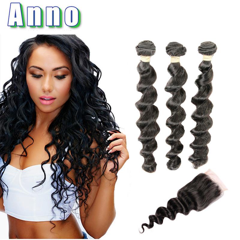 Бразильские волосы сплетенные пучки Anno Natural Color 20 20 20 with 16 фото