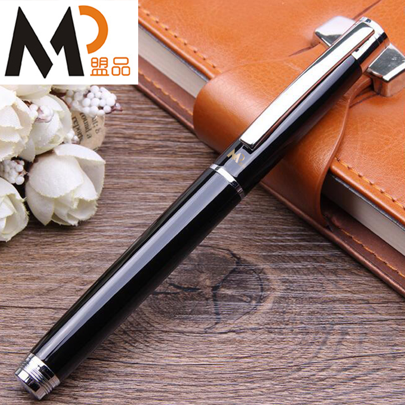 MP Black Roller ball pen real picasso 917 ballpoint pen roller ball pen office and school writing supplies gel pens business gift free shipping