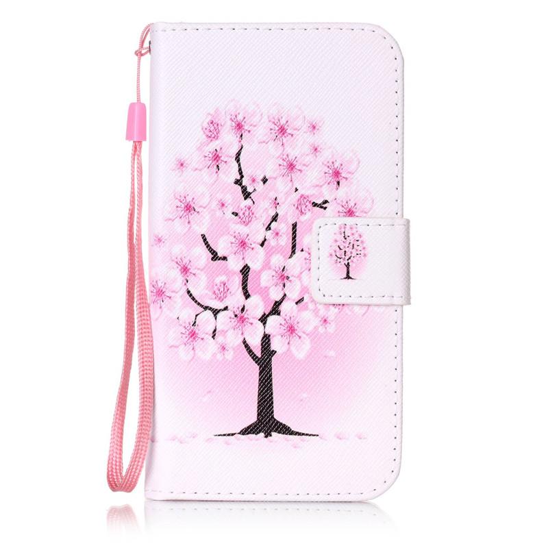 Чехол для Samsung Galaxy S6G9200 pink dandelion design кожа pu откидной крышки кошелек для карты держатель для samsung j5prime