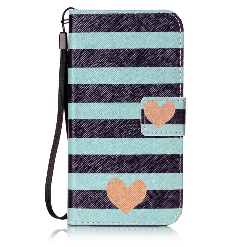 Чехол для Samsung Galaxy S6G9200 blue stripes дизайн pu кожа флип обложка кошелек для карты памяти чехол для samsung galaxy s4 i9500