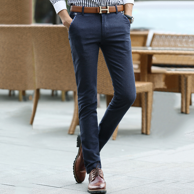 JD Коллекция синий 30 delusion повседневные брюки