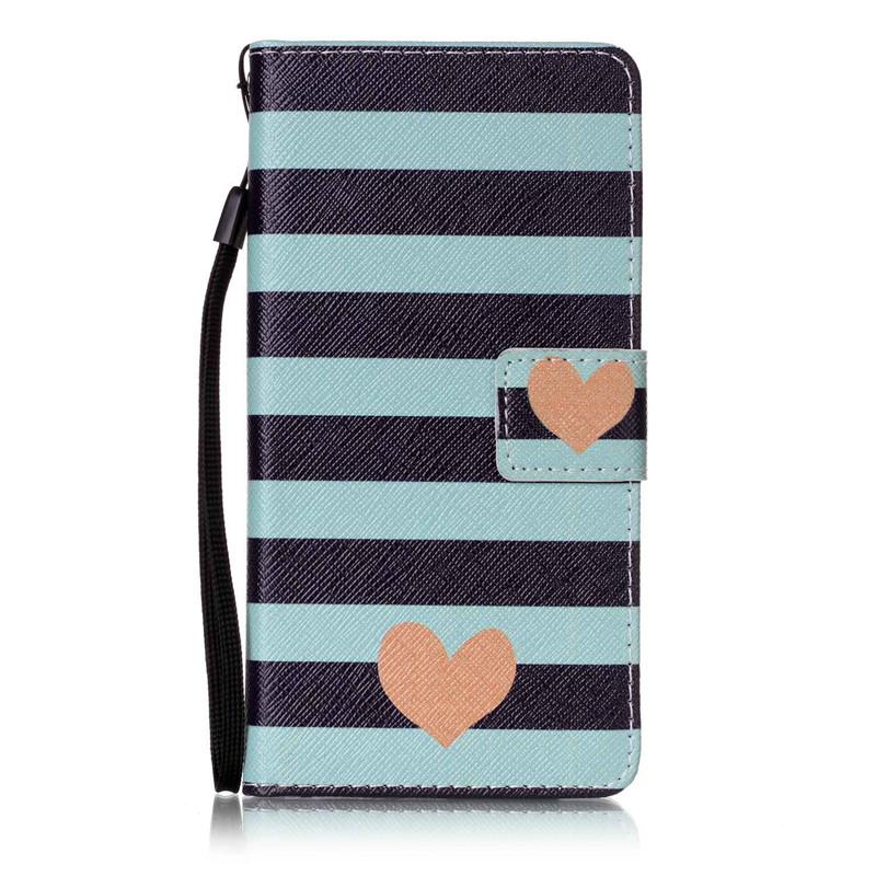 Чехол для Samsung Galaxy A52016A510 blue stripes дизайн pu кожа флип обложка кошелек для карты памяти чехол для samsung galaxy s4 i9500