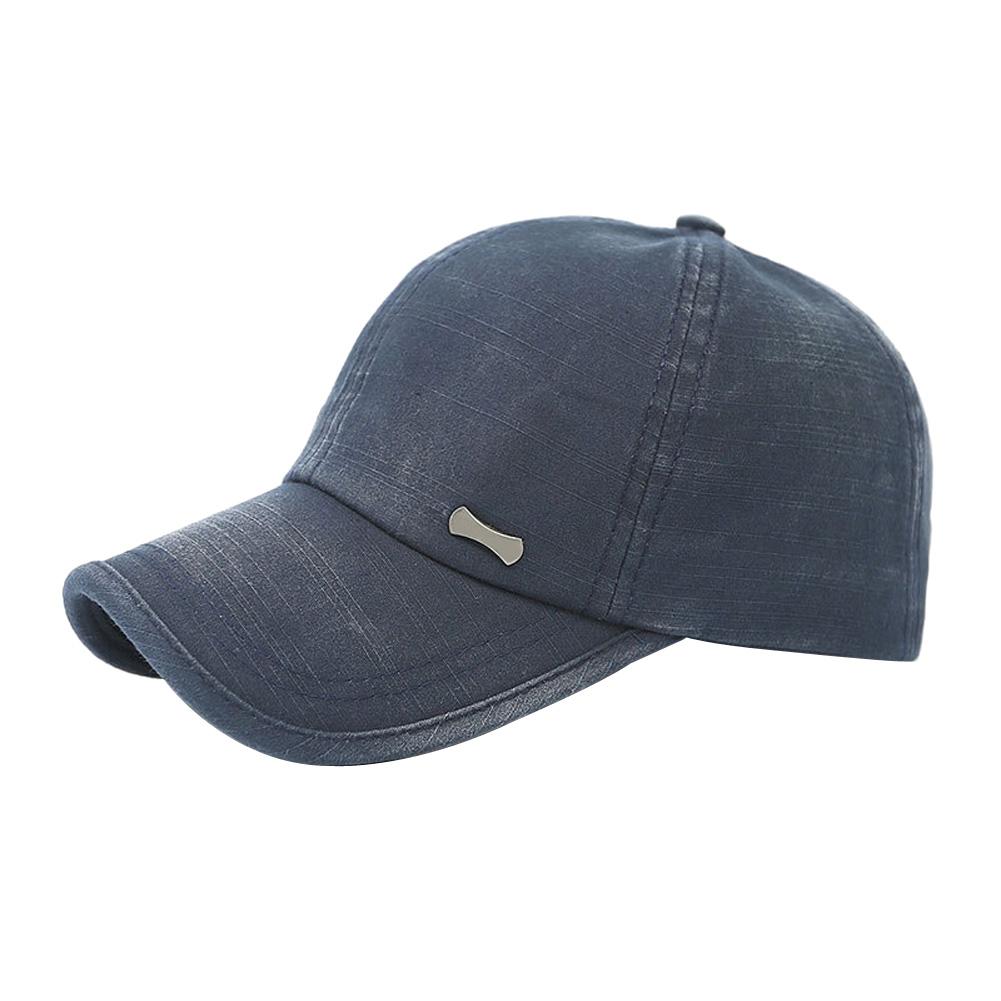 MyMei Синий цвет mymei men womens bboy hip hop adjustable brim baseball snapback hat unisex cotton cap