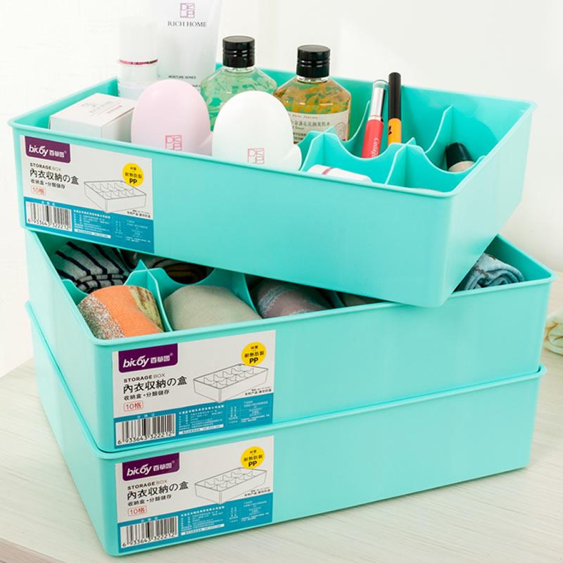JD Коллекция 10 3 клеток загружены без крышки зеленого дефолт бокс для хранения вещей kiss the plastic industry