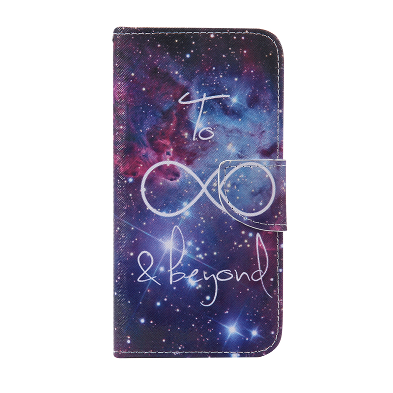 GANGXUN starry sky design кожа pu флип крышки кошелек карты держатель чехол для samsung j5prime