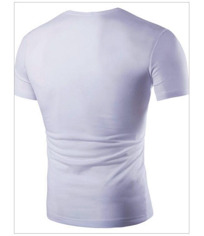 ZOGAA Белый цвет Номер S графический дизайн