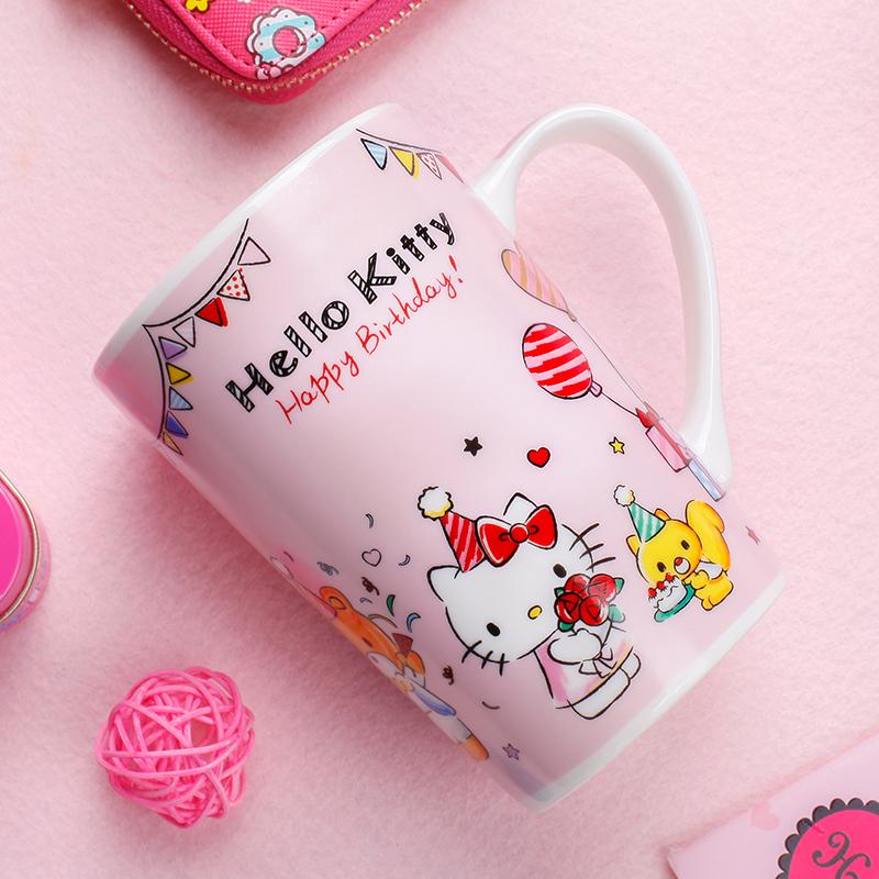 JD Коллекция Счастливый порошок День рождения королевы дефолт чашка кофейная hello kitty 003