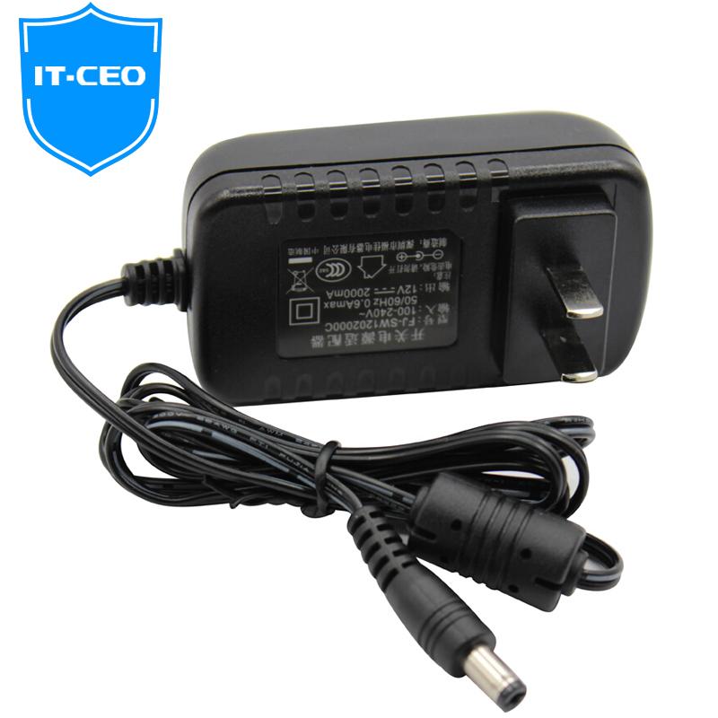 JD Коллекция 12V 2A адаптер питания дефолт зарядное устройство activ cau1 2a 01 2a black 35994