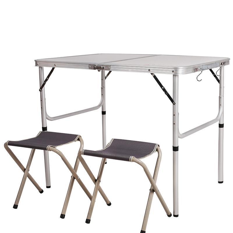 JD Коллекция По умолчанию 1 стол 2 стул белый 90 60 70