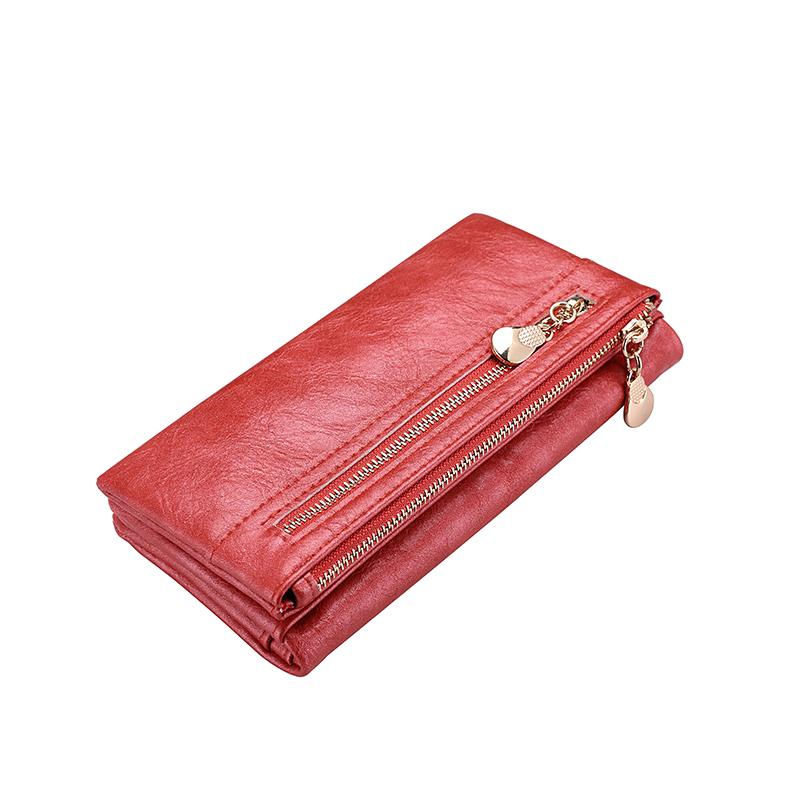 AEROLINE Красный цвет бумажник golden head портмоне кошелек 3302 50 1