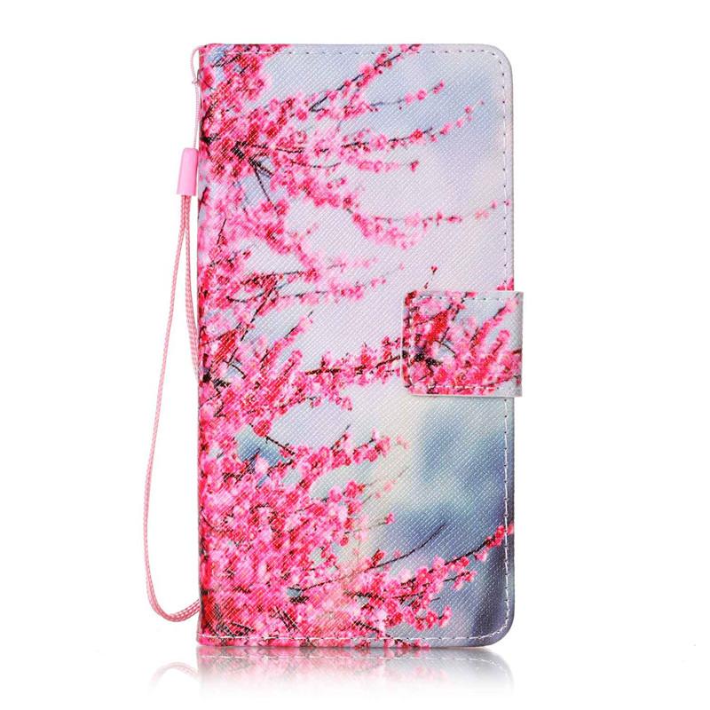 Чехол для LG K8 плам блоссом дизайн кожа pu откидной крышки кошелек карты чехол для lg k7 lg m1