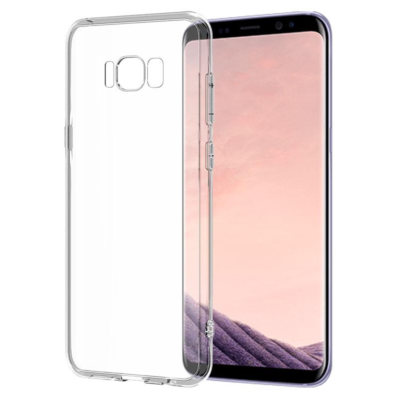BIAZE Прозрачный Samsung Galaxy S8 защитная раковина